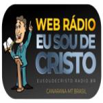 Logo da emissora Web Rádio Eu Sou de Cristo