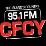 Logo da emissora Radio CFCY 95.1 FM