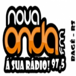 Logo da emissora Rádio Nova Onda