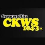 Logo da emissora Radio CFFX 104.3 FM