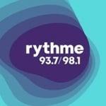 Logo da emissora Radio CFGE Rythme 93.7 FM