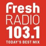 Logo da emissora Radio CFHK Fresh 103.1 FM