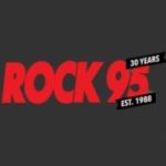 Logo da emissora Radio Rock 95 FM