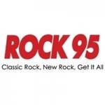 Logo da emissora Radio CFJB Rock95 95.7 FM