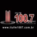 Logo da emissora Rádio Itu 100.7 FM
