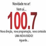 Logo da emissora Rádio Nova Pauta 100.7 FM
