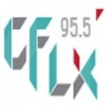 Logo da emissora Radio CFLX 95.5 FM