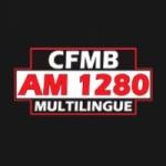 Logo da emissora Radio CFMB Montréal 1280 AM