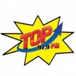 Logo da emissora Rádio Top 97.9 FM