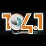 Logo da emissora Radio Soberania 104.1 FM