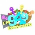 Logo da emissora Radio Emoción 94.9 FM