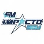 Logo da emissora Radio Impacto 98.1 FM
