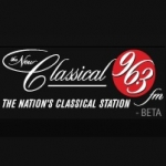 Logo da emissora Radio CFMX Classical 96.3 FM