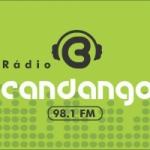 Logo da emissora Rádio Candango FM