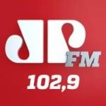 Logo da emissora Rádio Jovem Pan 102.9 FM