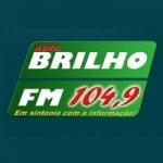 Logo da emissora Rádio Nova Brilho 104.9 FM