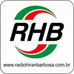 Logo da emissora Rádio Hiran Barbosa