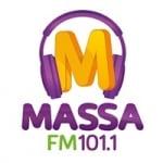Logo da emissora Rádio Massa 101.1 FM