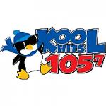 Logo da emissora Radio WLGC Kool Hits 105.7 FM