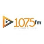Logo da emissora Rádio 107.5 FM