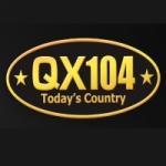 Logo da emissora Radio CFQX 104 FM