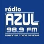 Logo da emissora Radio Azul 98.9 FM