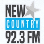 Logo da emissora Radio CFRK New Country 92.3 FM