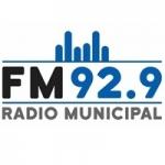 Logo da emissora Radio Municipal 92.9 FM