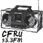 Logo da emissora Radio CFRU 93.3 FM