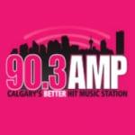 Logo da emissora Radio Amp 90.3 FM