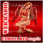 Logo da emissora Rádio Família Redangels
