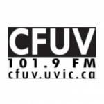 Logo da emissora Radio CFUV 101.9 FM