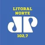 Logo da emissora Rádio Jovempan Litoral Norte 102.7 FM