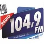 Logo da emissora Rádio Jari 104 FM