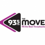 Logo da emissora Radio CFXJ The Move 93.5 FM