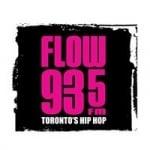 Logo da emissora Radio CFXJ Flow 93.5 FM
