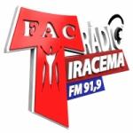 Logo da emissora Rádio Iracema 91.9 FM