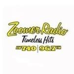 Logo da emissora Radio CFZM Zoomer 740 AM 96.7 FM
