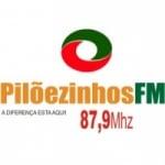 Logo da emissora Rádio Pilõezinhos 87.9 FM