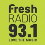 Logo da emissora Fresh Radio 93.1 FM