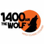 Logo da emissora Radio WFTG The Wolf 1400 AM