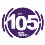 Logo da emissora Rádio Rede Aleluia 105.3 FM