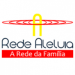 Logo da emissora Rádio Aleluia 100.3 FM