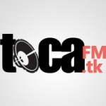 Logo da emissora Toca FM