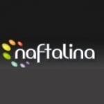 Logo da emissora Rádio Naftalina