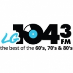 Logo da emissora Radio CHHR LG 104.3 FM
