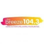 Logo da emissora Radio CHLG The Breeze 104.3 FM
