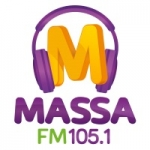 Logo da emissora Rádio Massa 105.1 FM