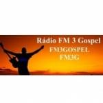 Logo da emissora Rádio FM 3 Gospel