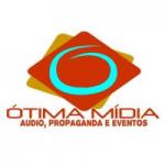 Logo da emissora Ótima Mídia